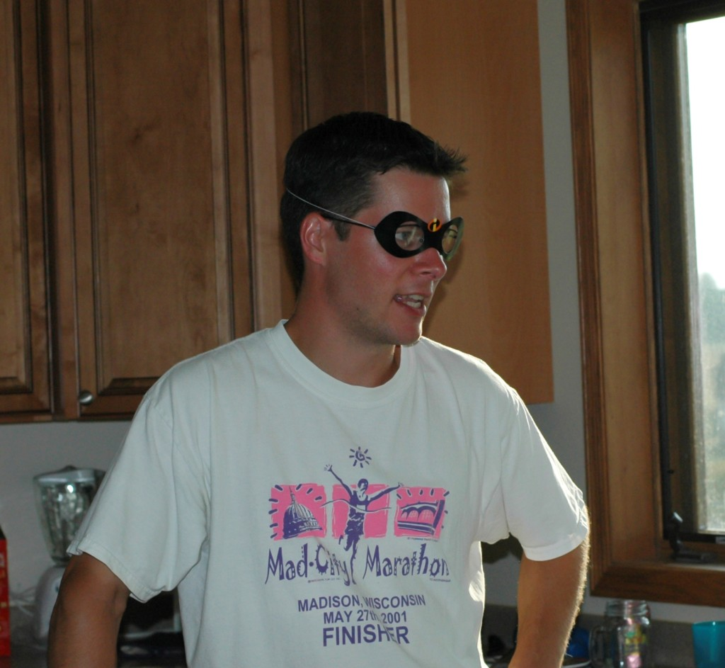 Jim Mask Marathon Shirt 2005 cropped