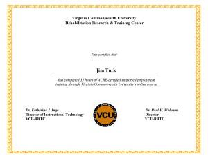 VCUcertificate